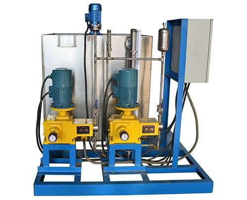 给水凝结水加氨装置